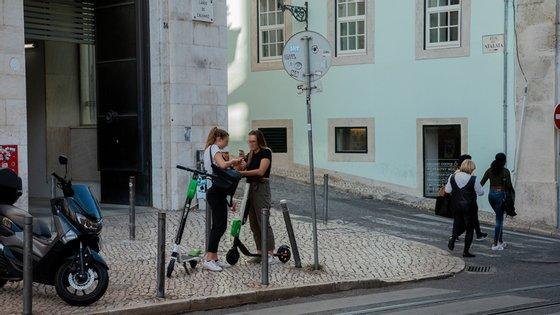 Em Lisboa, até ao momento há apenas registo de dois acidentes com as trotinetes elétricas Lime.