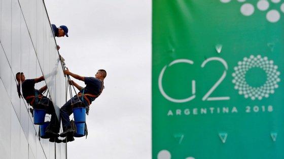 A cimeira do G20 realiza-se em Buenos Aires, sexta-feira e sábado