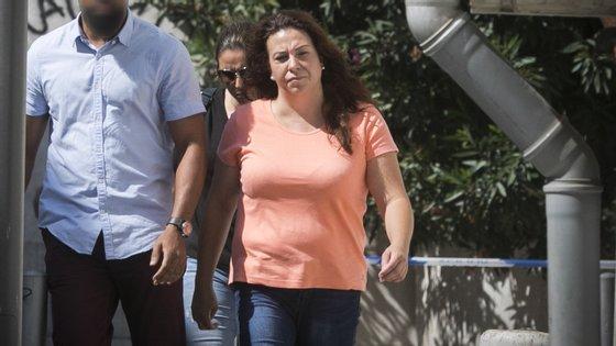 Rosa Grilo foidetida no dia 29 de setembro, por suspeitas de ser a co-autora do homicídio do triatleta Luís Grilo