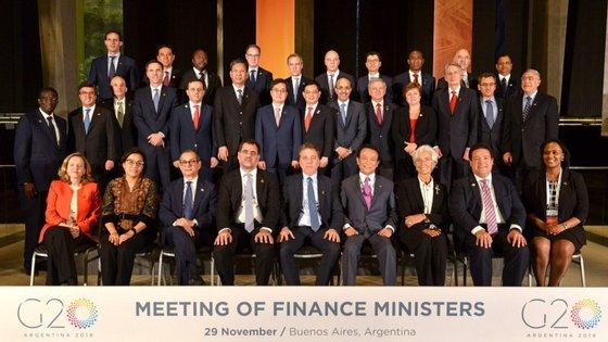 Os investidores aguardam com expectativa o encontro entre os presidentes norte-americano e chinês, na cimeira do G20, na Argentina