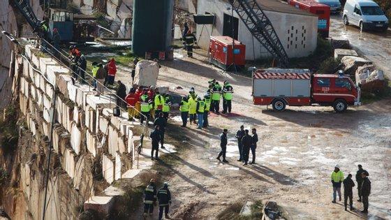 As operações de resgate na pedreira de mármore em Borba duraram 13 dias