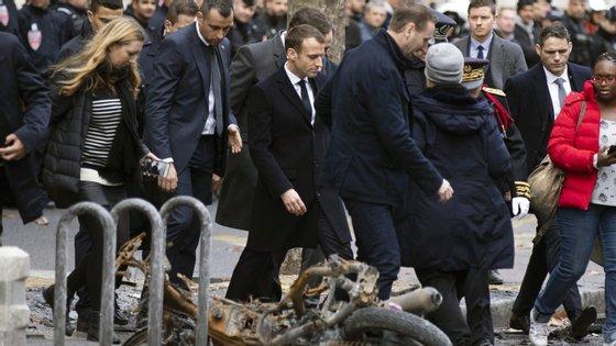 """As autoridades francesas apontam para 133 feridos e 412 detenções durante as manifestações dos """"coletes amarelos"""""""