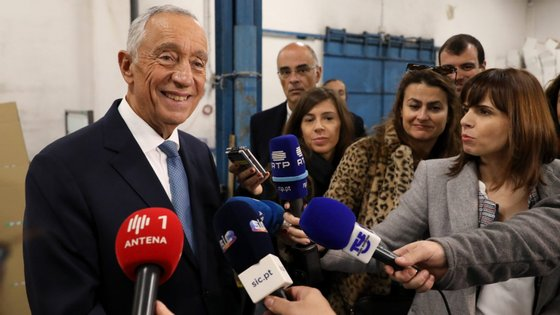 """o chefe de Estado """"felicita todos os empresários, trabalhadores e demais agentes do setor do Turismo pela eleição"""""""