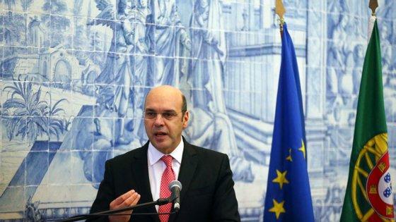 """Pedro Siza Vieira falou na conferência """"Portugal-China, uma relação com futuro"""", em Belém, Lisboa"""