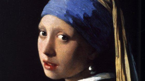 A Rapariga com o Brinco de Pérola é a obra mais conhecida de Johannes Vermeer