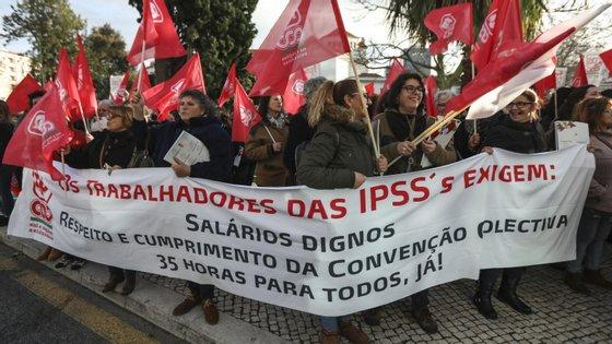 Os gastos com funcionários representam 58,41% do orçamento das IPSS: e não são comparticipados pelo Estado