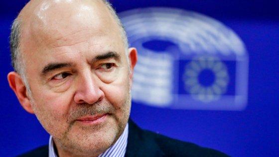 Moscovici falava no final da maratona negocial de 18 horas do Eurogrupo