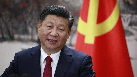 A comitiva do presidente chinês viajou para Portugal em dois aviões