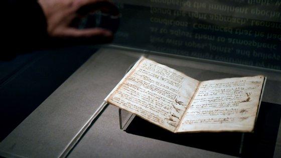 """O """"Codex Leicester"""" foi comprado em 1994 por Bill Gates. Não voltou ao Reino Unido desde então"""