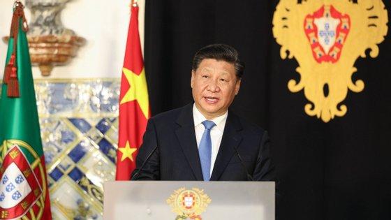 O presidente chinês Xi Jinping visita Portugal esta terça-feira e quarta-feira