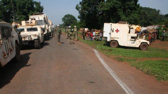 Militares na República Centro-Africana