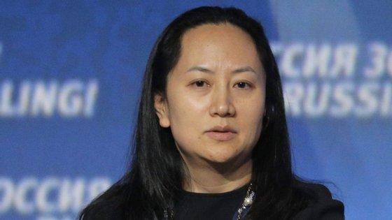 A diretora financeira da Huawei,Wanzhou Meng, foi detida no passado sábado