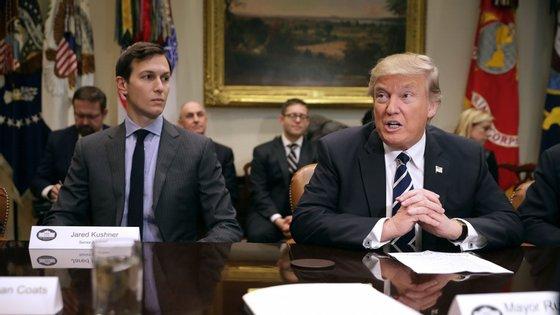 Jared Kushner é, além de genro de Donald Trump, um dos seus principais conselheiros na Casa Branca