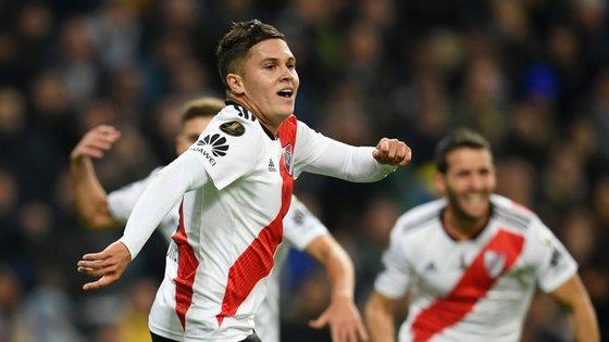 Juan Quintero iniciou a jogada do 1-1, fez uma obra prima a 11 minutos do final do prolongamento e assistiu Pity Martínez no 3-1