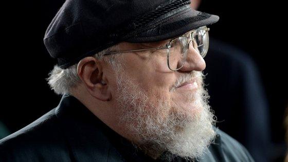"O escritor norte-americano começou a escrever a saga de ""A Guerra dos Tronos"" nos anos 90"