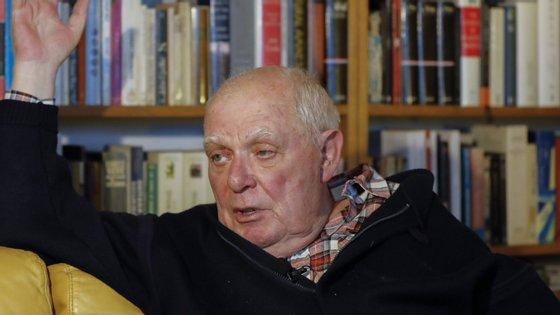 O escritor António Lobo Antunes