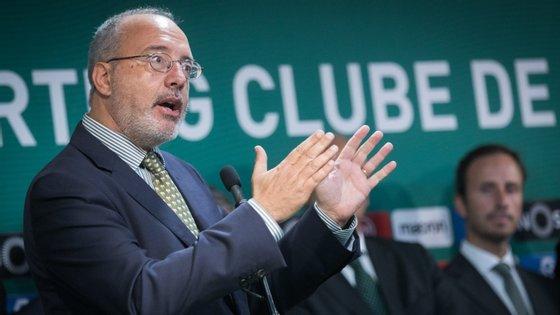 Rogério Alves explicou em linhas gerais os procedimentos da próxima Assembleia Geral do clube, no sábado