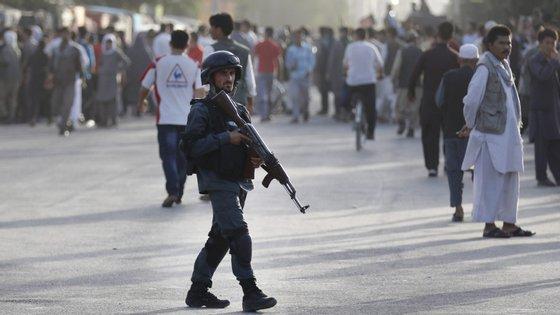 O ataque desta terça-feira foi reivindicado pelos talibãs