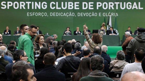 Assembleia Geral do Sporting reuniu para deliberar sobre recurso de ex-dirigentes sobre suspensão e expulsão de sócios