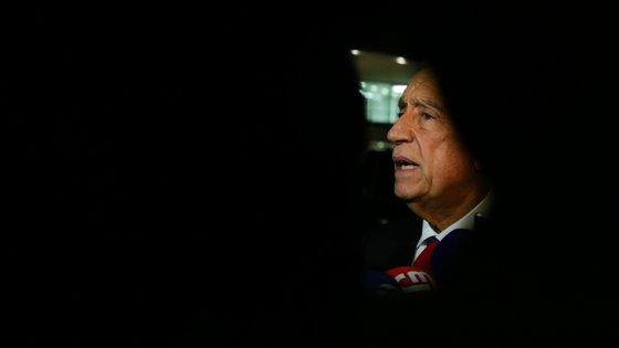 O Presidente da República Marcelo Rebelo de Sousa esteve em contacto durante a madrugada com o presidente do INEM