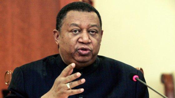 O secretário-geral da OPEP - Organização dos Países Exportadores de Petróleo, Mohammad Sabusi Barkindo