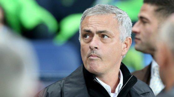 José Mourinho estava no comando técnico do Manchester United desde maio de 2016