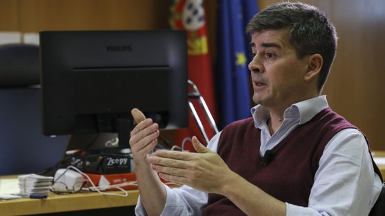 Tiago Oliveira, chefe da Unidade de Missão para a Instalação do Sistema Integrado para a Gestão de Fogos Rurais