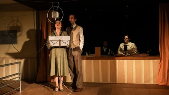 """Ensaio de imprensa da peça """"A Grande Emissão do Mundo Português"""", em Coimbra"""