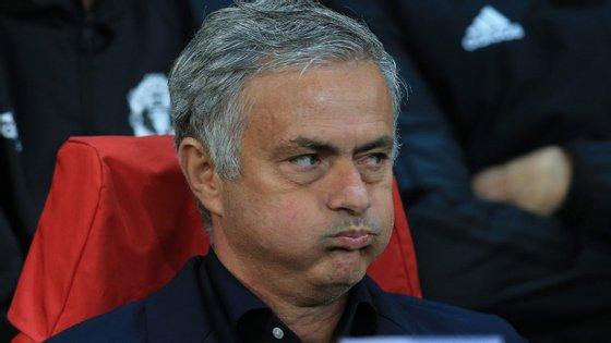 O treinador português conquistou uma Taça da Liga, uma Community Shield e uma Liga Europa ao serviço do United
