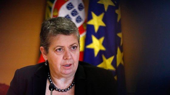 A ministra do Mar, Ana Paula Vitorino.