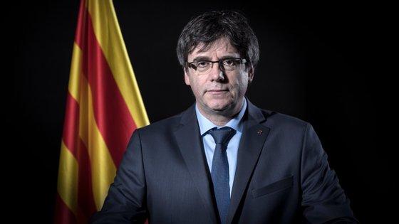 O ex-presidente catalão, Carles Puigdemont, está exilado na Bélgica