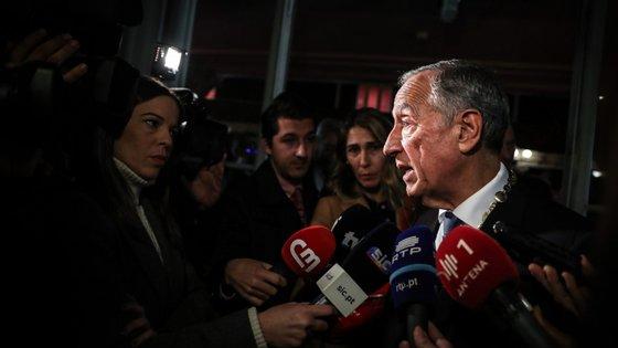 A mensagem do chefe de Estado, Marcelo Rebelo de Sousa, ocorre cerca de duas semanas depois de motins em algumas prisões portuguesas