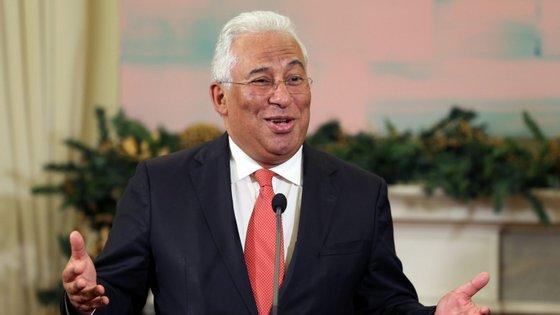 Primeiro-ministro António Costa aproveitou o Natal para enviar mensagem às Forças Armadas