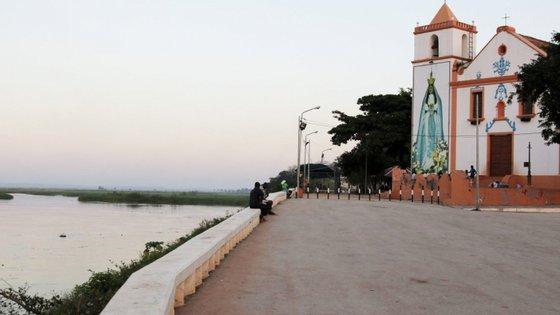 Santuário da Nossa Senhora de Muxima, Angola. A vila de Muxima transformou-se no maior centro mariano da África subsaariana