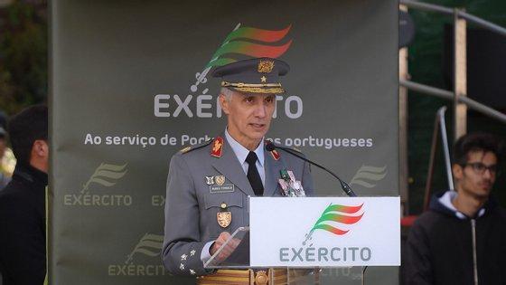 O Chefe do Estado-Maior do Exército (CEME), general Nunes da Fonseca