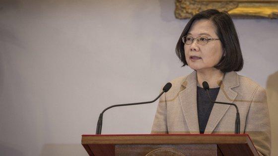 Tsai Ing-wen, a líder taiwanesa