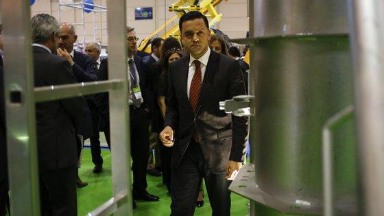 Pedro Marques é o ministro do Planeamento e das Infraestruturas