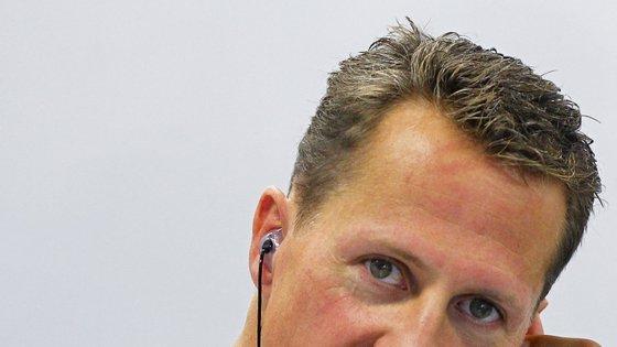 Michael Schumacher, antigo heptacampeão mundial de Fórmula 1