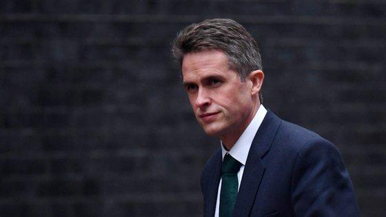 Gavin Williamson, ministro da Defesa britânico