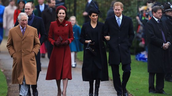 Depois de um Natal em família, esperam-se mais 12 meses agitados em solo britânico para Meghan, Kate e companhia