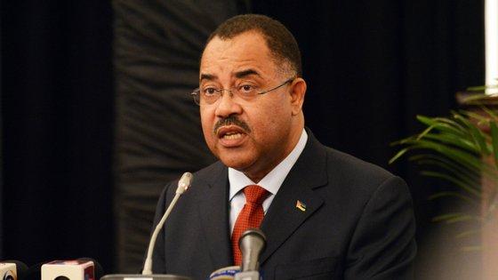 O ministro das Finanças de Moçambique, Manuel Chang