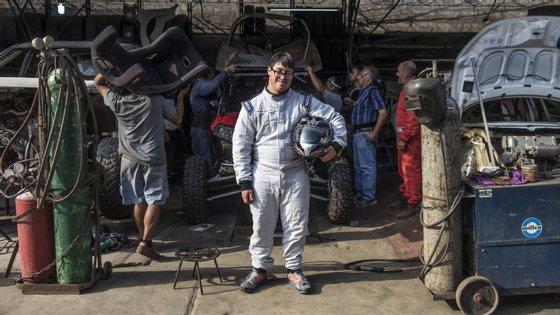 Lucas Barrón já participou no Desafio Inca e teve cerca de um ano e meio de preparação com o pai para o Dakar de 2019