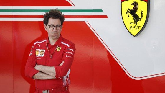 Mattia Binotto é o novo responsável pela equipa de Fórmula 1 da Ferrari