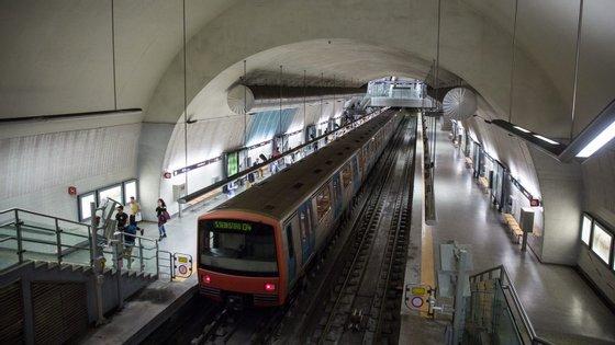Estação de São Sebastião, Metropolitano de Lisboa