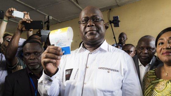 Felix Tshisekedi foi o candidato da oposição que venceu as eleições na República Democrática do Congo