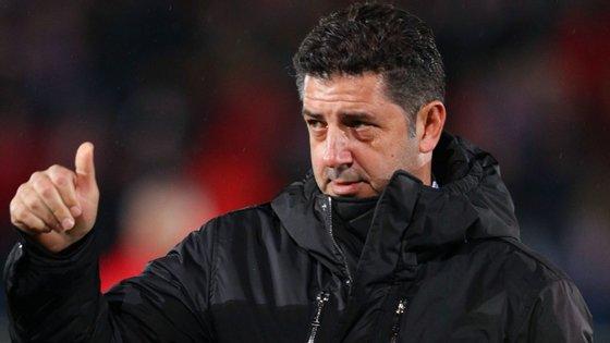 Rui Vitória abandonou o comando técnico do Benfica há precisamente uma semana, na sequência da derrota das 'águias' em Portimão (2-0)