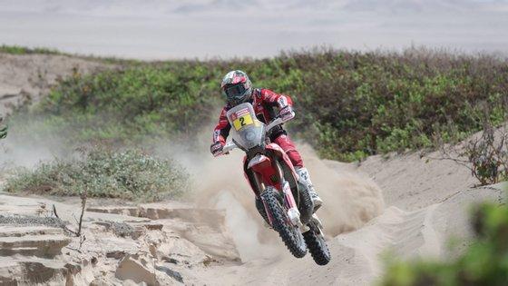 A 41.ª edição do rali Dakar de todo-o-terreno disputa-se até 17 de janeiro integralmente em solo peruano