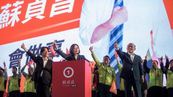 A Presidente de Taiwan, Tsai Ing-wen, nomeou esta sexta-feiraSu Tseng-chang como o novo primeiro-ministro da ilha