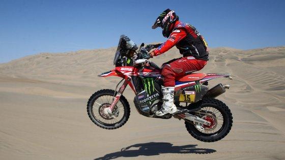 A oitava etapa do Rali Dakar 2019 cumpre-se entre San Juan de Marcona e Pisco