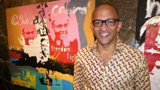 Abraão Vicente, ministro da Cultura e Indústrias Criativas cabo-verdiano